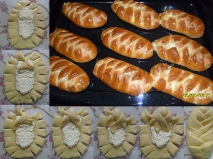 Как из теста сделать красивые булочки фото нашем