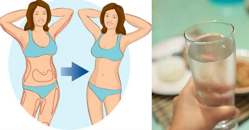 Срочно можно похудеть на воде
