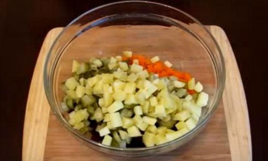 Рецепт винегрета. 7 классических очень вкусных рецептов с фасолью